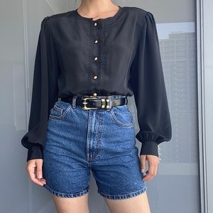 Vintage Black Shirt
